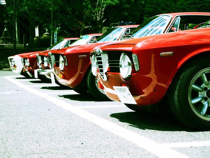 Alfa Romeos... Juliette is jealous...