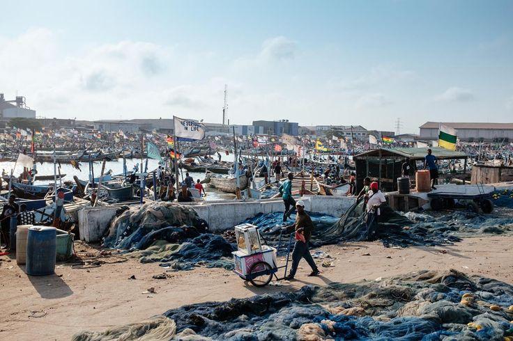 Tema Fishing Port