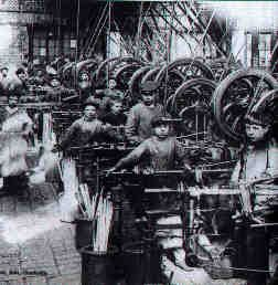 Children worked in inhumane conditions. Because of these conditions, nerve strain and eyestrain were common for young textile workers.