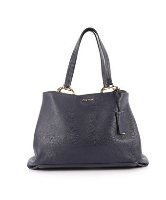 MIU MIU PRE-OWNED  MADRAS TOTE LEATHER MEDIUM.  miumiu  bags  leather  hand  bags  tote   9d90277259839