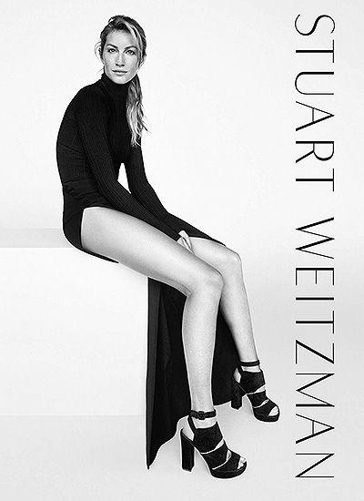 Жизель Бундхен в рекламной кампании Stuart Weitzman