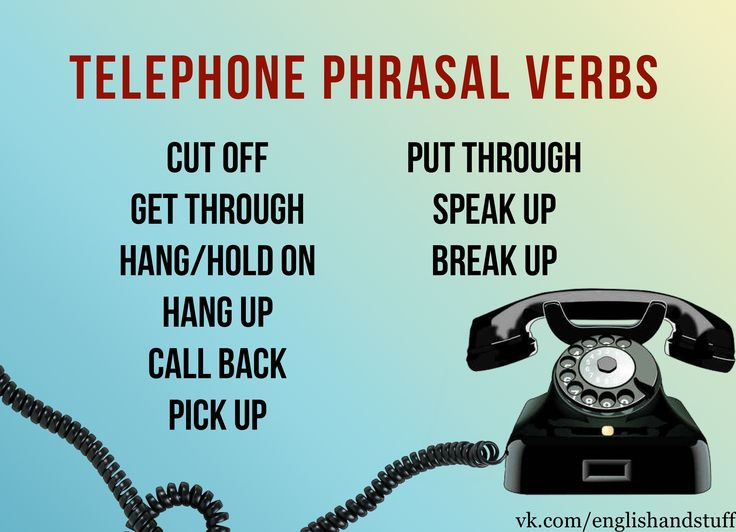 #english #learning #words #idioms #phone