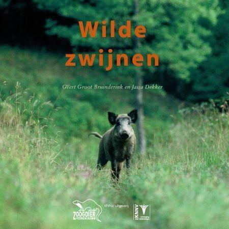 Omslag van het boek 'Wilde zwijnen' (afbeelding: KNNV uitgeverij)