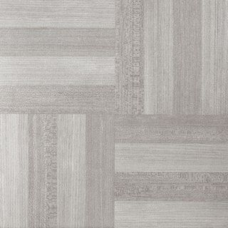 Shop for Tivoli Ash Grey Wood 12x12 Self Adhesive Vinyl Floor Tile - 45 Tiles/45 sq Ft.. Free Shipping on orders over $45 at Overstock.com - Your Online Home Improvement Outlet Store! Get 5�0in rewards with Club O! - 22464546