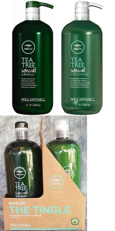 Sets and Kits: Paul Mitchell Tea Tree Special Shampoo And Conditioner Liter Set Duo 33.8 Fl Oz -> BUY IT NOW ONLY: $48.99 on eBay!