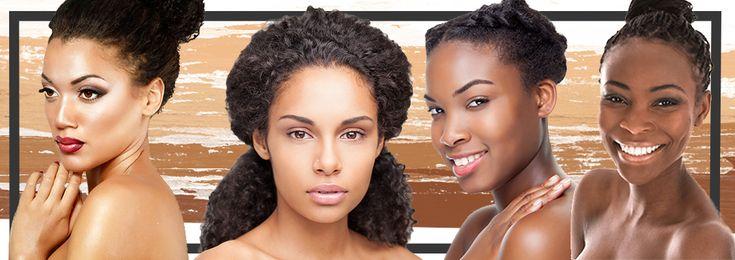 Foundation for ethnic skin