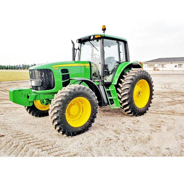 John Deere Heavy Equipment | 2010 John Deere 7330 Tractor For Sale → 2010 JOHN DEERE 7330