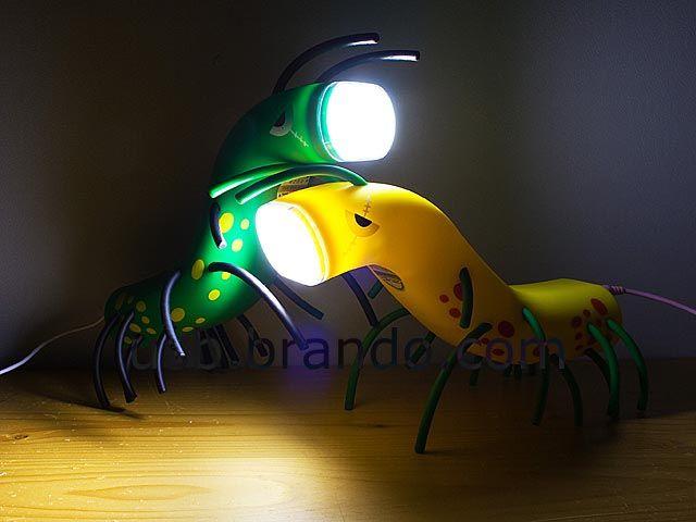Bug Shaped USB LED Lamp