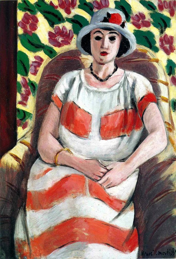 Henri Matisse - Young Woman in pink-1923