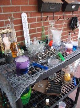 Dry Ice Drinks For Halloween
