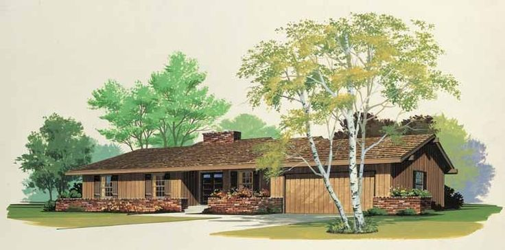 Eplans Country House Plan - Wonderful Rustic Design - 1589