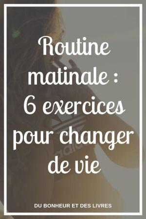 Une routine matinale, ce n'est pas avoir une mais 6 bonnes raisons de nous lev…