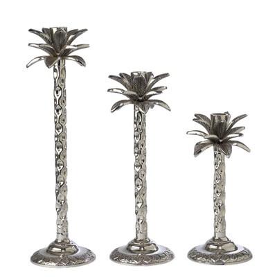 125 00 Andrea By Sadek Set Of 3 Palm Tree Silver Nickel