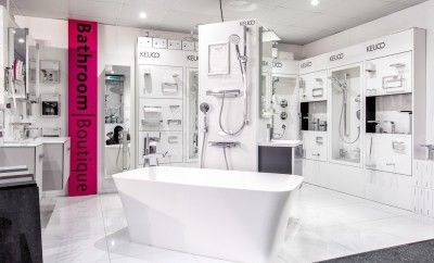 A shot of our showroom in Benfleet, Essex. We cater for all of your bathroom needs!