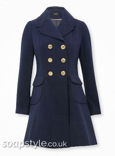 EastEnders Stacey Branning // Lacey Turner // Stacey's Military Coat - Multiple Episodes '14 [ Click photo for details ❤ ]