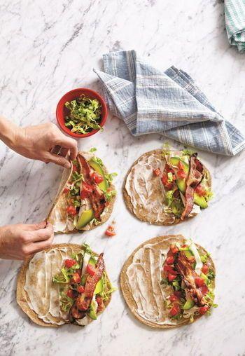 何でも自由に巻いちゃおう♪トルティーヤで作る簡単ラップサンドレシピ  | キナリノ