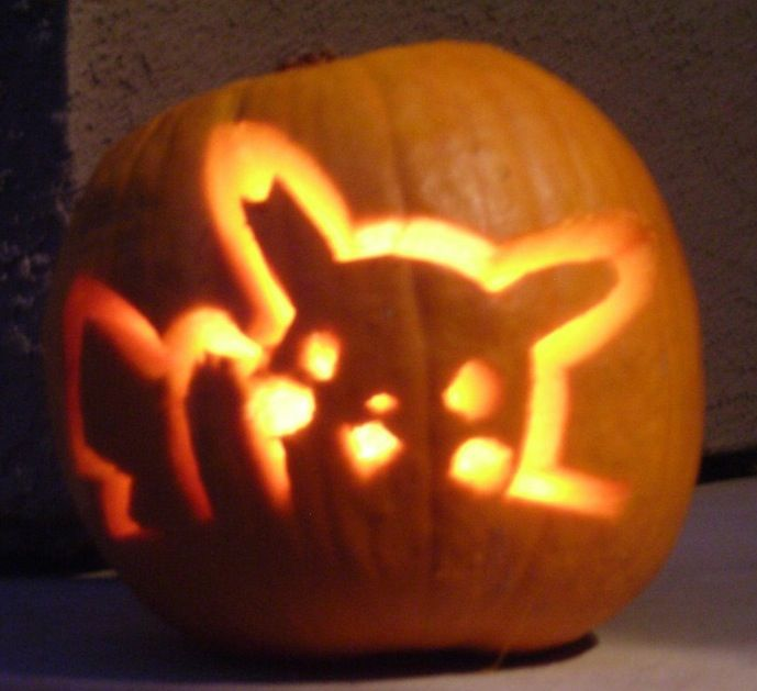 Pikachu carving