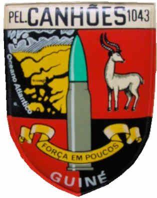 Pelotão de Canhões sem Recuo 1043 Guiné