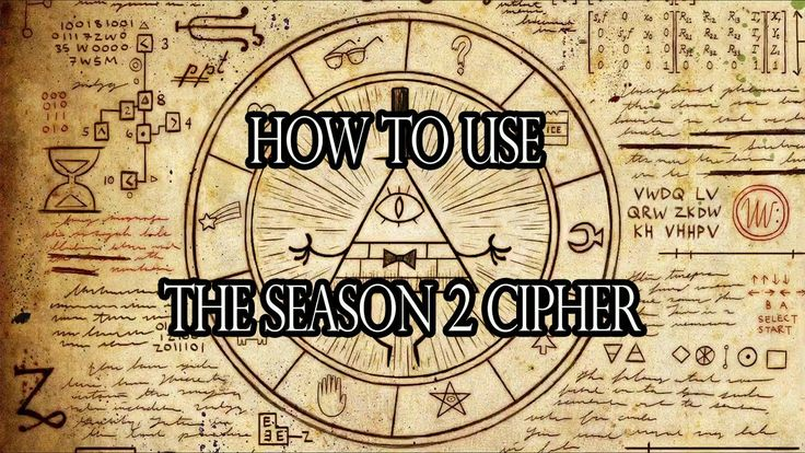Tutorial] How to use the Gravity Falls Season 2 Cipher [Key ...