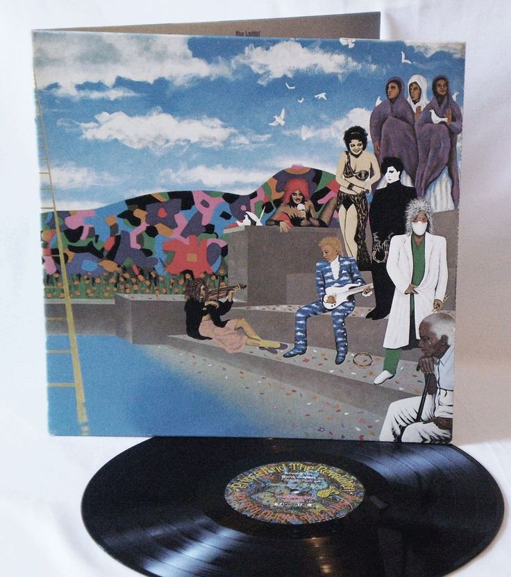 PRINCE And The Revolution Around The World In A Day, 1985 Rock, Funk / Soul, Pop