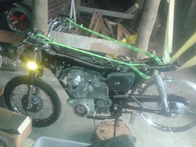 CB200 project. Coming on.
