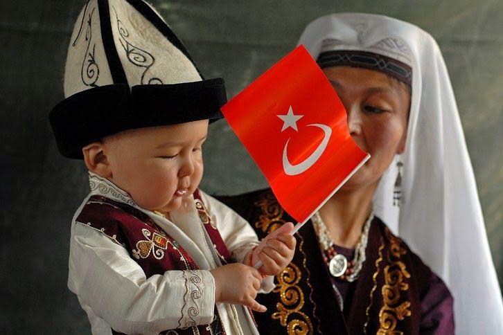 Turan Halkları - Turanic People - Туран народами - Türk Asya - Bilig Bitig, Asian Turkish, Тюрки России