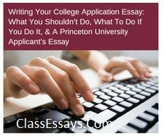essay writing about school