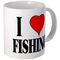 I LOVE FISHING Mug
