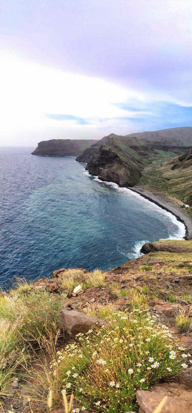 Rundwanderweg auf La Gomera | Etappe 6 | Ausblick auf die Playa de la Guancha |  Wandern auf dem GR132 mit spektakulärem Blick | ganzjähriges Wandern, auch im Winter ideal!