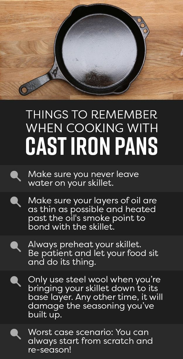 Don't let the idea of seasoning and cleaning cast iron pans intimidate you; they're one of the most versatile tools in your kitchen. Use them on the stove, pop 'em in the oven, they're basically indestructible — we're talking magic pans, folks.