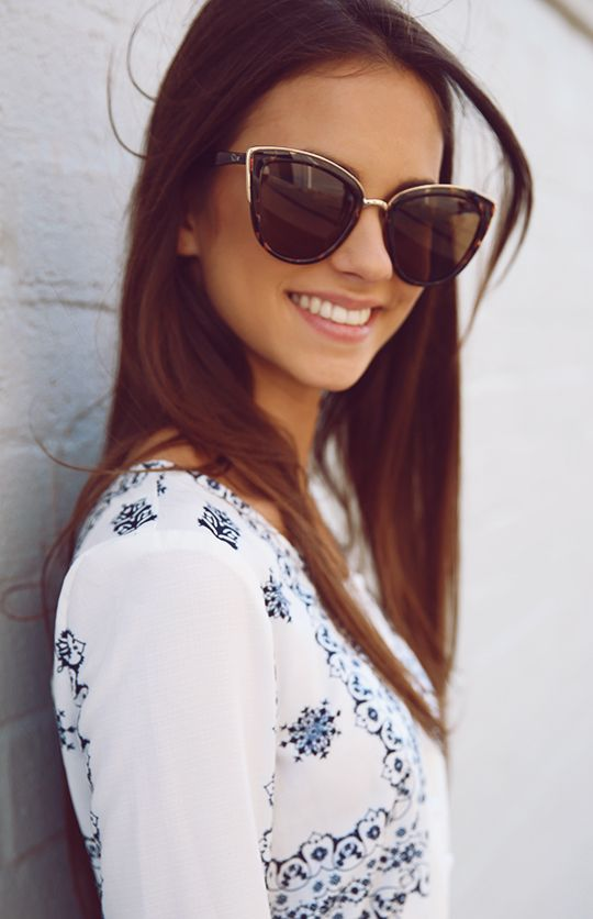 Quay Australia - My Girl Sunglasses - Tort | Accessories | Peppermayo