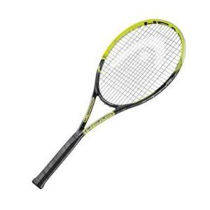 Head Exteme Pro 2.0 Strung Tennis Racquet by HEAD. $129.99. The Pro is Richard Gasquet`s weapon of choice. All of the benefits of the Extreme MP 2.0 in a heavier stiffer version. This aggressive Tour racquet provides all of the extra touch power and massive spin you want for an aggressive game.InnegraOn top of this: HEAD`s new hybrid-composite structure with the ultra tough Innegra fibre considerably extends the performance of your HEAD racquet that means that racquets rem...