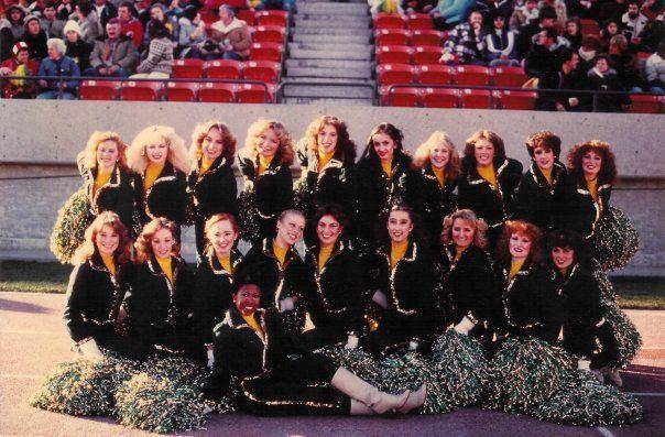 1980 Edmonton Eskimo Cheer Team