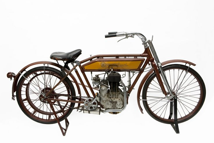 Reading Standard Motorcycle, 1913 from the Museum of Science and Industry, Chicago