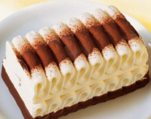 Viennetta ice cream. They made this in the late 80's/early 90's. It was YUMMAY!