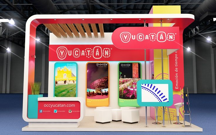 Yucatan Booth on Behance