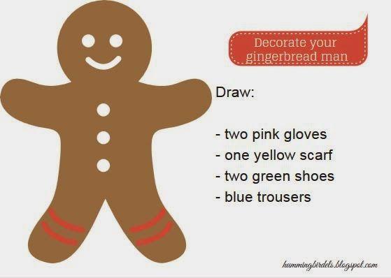 Blog dla nauczycieli języka angielskiego: Gingerbread man, czyli kolejna świąteczna lekcja