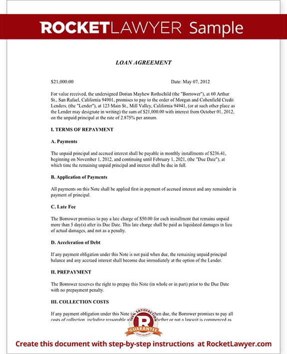 18 best OnLine images on Pinterest Templates, Free printable and - promissory agreement template