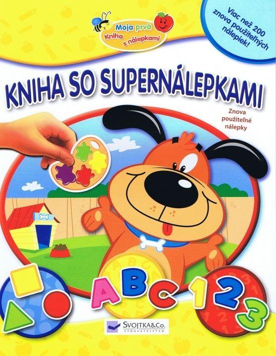 Paperback: Kniha so supernálepkami-žltá-farby,tvary,čísla,prvé slová (autor neuvedený) | bux.sk