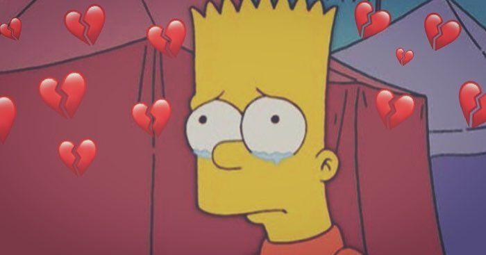 Bart Bartsimpson Brokenheart Bartsimpsonedits Edit Thesimpsons Simpson Simpsons Tears Cry Love Edit Foto De Asthe Bart Simpson Simpson Asthetic