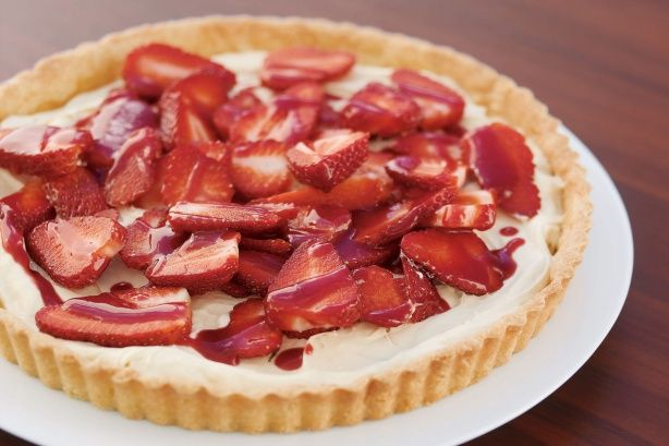 mascarpone tart plum tart with mascarpone cream recipes dishmaps plum ...