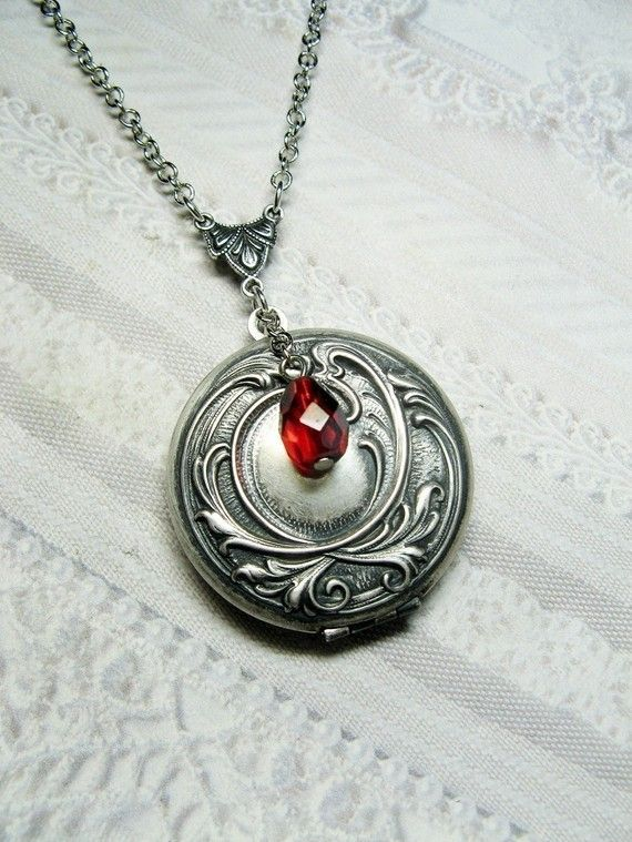 Hey, I found this really awesome Etsy listing at http://www.etsy.com/listing/82225583/silver-locket-necklace-original-elenas