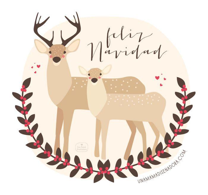 Printable chritsmas cards postales navide as para - Imagenes de navidad para imprimir ...