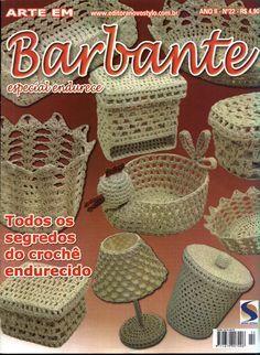 Revistas de crochet: Barbante