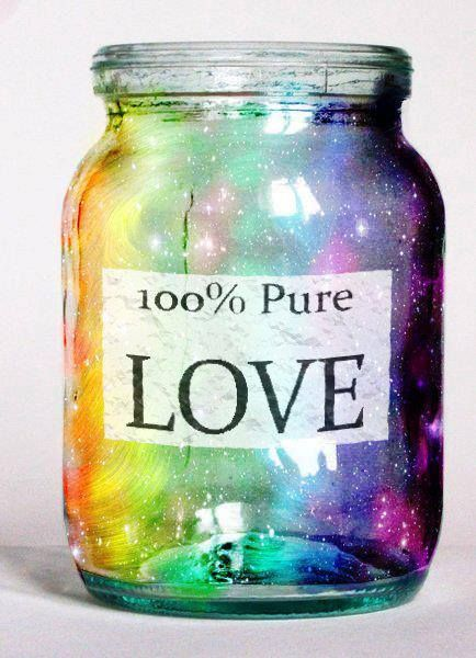 Put love notes to yourself in a jar and take one out every day and read it out loud. When you love yourself, you can love others so much more!