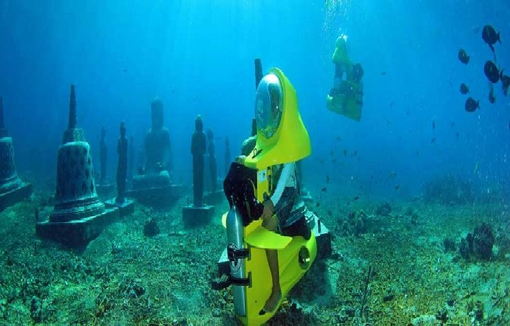 Bali Underwater Scooter were created to provide the scuba diving experience to virtually anyone-without any of the rigors required