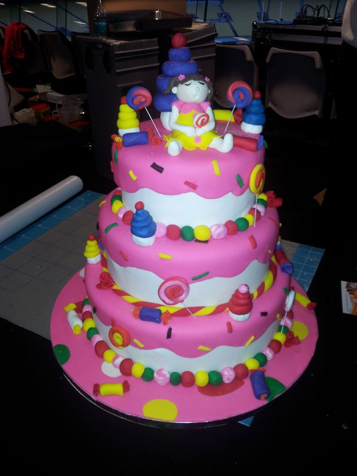 Candy Land Cake made for a Toops Trade Show