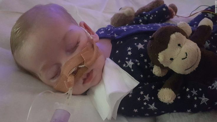 The European Court of Human Rights ruled that a hospital can withdraw life support for a sick baby, Charlie Gard, whose parents want to bring him to the US for experimental treatment.