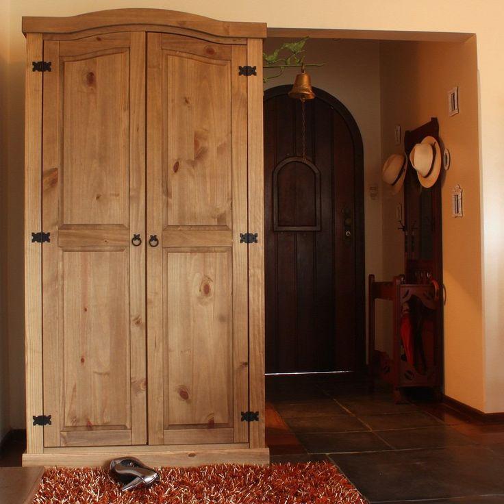 25 melhores ideias de guarda roupa madeira maci a no - Armarios personalizados ...