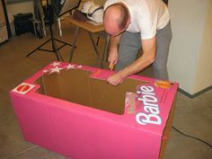 Best directions for DIY Barbie Boxes